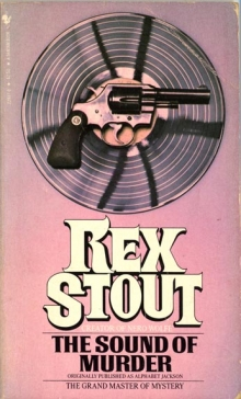 The Sound of Murder / by Rex Stout