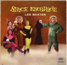 Les Baxter - Space Escapade