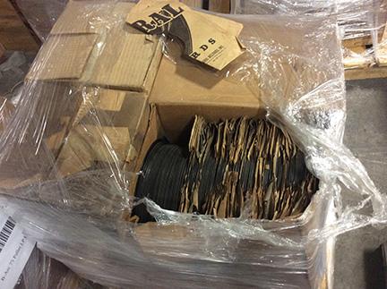 Boxes arrive @ Carlson sml