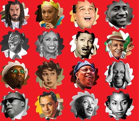 Cuba Music Week background