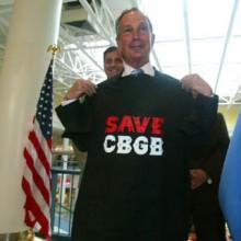 Bloomberg Save CBGB