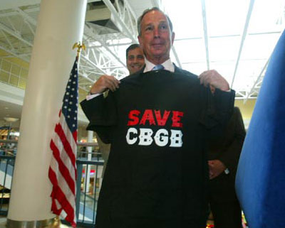 Bloomberg Save CBGB