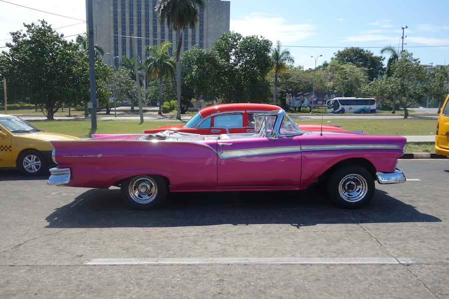 purple car sml